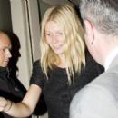 Gwyneth Paltrow - La Petite Maison Restaurant For Her 36th Birthday London - Sept 25 2009