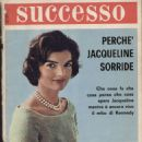 Jacqueline Kennedy - Successo Magazine Cover [Italy] (May 1964)