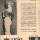 Marilyn Monroe - Movie Stars Magazine Pictorial [United States] (June 1955) - 454 x 605
