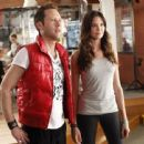 Odette Annable and Michael Rosenbaum