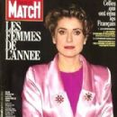 Catherine Deneuve - Paris Match Magazine [France] (December 1991)
