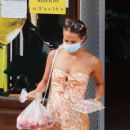 Alicia Vikander – Bikini candids on the beach in Ibiza