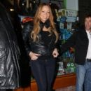 Mariah Carey shops for toys and jewelry while vacationing in Aspen, Colorado on December 23, 2012