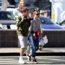 Bradley Cooper and Irina Shayk in LA