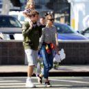 Bradley Cooper and Irina Shayk in LA