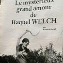 Raquel Welch - Cine Revue Magazine Pictorial [France] (28 July 1977)