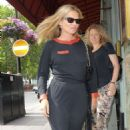 Kate Moss at Sexy Fish Restaurant in Mayfair - 454 x 869