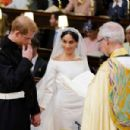 A very modern marriage: Harry and Meghan wed at St George's Chapel in Windsor in an extraordinary star-studded, multi-cultural ceremony, the likes of which the Royals have never seen - 454 x 301