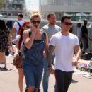 Gemma Atkinson and boyfriend Gorka Marquez out in Barcelona - 454 x 692