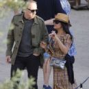 Salma Hayek – Attends a wedding in Barcelona