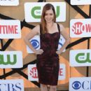 Actress Alyson Hannigan arrives at the CW, CBS and Showtime 2013 summer TCA party on July 29, 2013 in Los Angeles, California