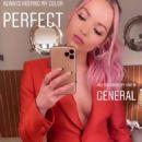 Dove Cameron in Red Jacket – Instagram