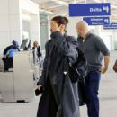 Bella Hadid – Arrives at Airport in New Orleans