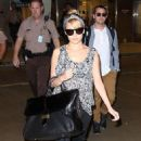 Nicole Richie: at Miami Int'l Airport