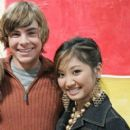 Brenda Song and Zac Efron