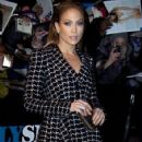 Jennifer Lopez stops by at 'The Daily Show with Jon Stewart' in New York City, New York on January 20, 2015