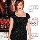 Christina Hendricks: Hollywood screening of her film Ginger and Rosa