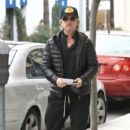 David Spade is spotted out and about with his girlfriend in Beverly Hills, California on January 9, 2017 - 400 x 600
