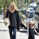 Rachel Zoe was spotted running errands with her son Kaius Berman in Los Angeles, California on March 24, 2017 - 454 x 565