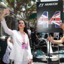 Adriana Lima at Monaco Formula One Grand Prix in Monaco