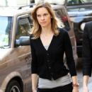 Hilary Swank - Leaving The Set Of 'Something Borrowed' In NYC 5/4/10