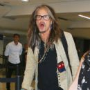 Steven Tyler is seen at LAX - 400 x 600