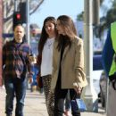 Emily Ratajkowski – Seen with a friend while out in Los Angeles