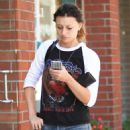 Aly Michalka in Jeans out in Beverly Hills September 7, 2016 - 454 x 540