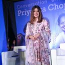 Priyanka Chopra–UNICEF India Press Conference in New Delhi - 454 x 681
