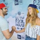 Model Nina Agdal attends the New Era Pool House at MLB All-Star Week at Palomar Hotel on July 11, 2016 in San Diego, California - 454 x 303