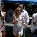 Kate Hudson With Dax Shepard Filming Cutlas, 2007-07-26
