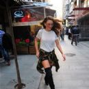 Serenay Sarikaya : out and about (October 06, 2016)