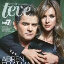 Sergio Basañez, Iliana Fox, New Title - Teve Diario Excelsior Magazine Cover [Mexico] (26 March 2012)