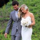 Brandon Jenner and Leah Felder's wedding in Hawaii (May 31) - 454 x 622