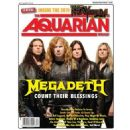 Shawn Drover, Dave Mustaine, James Lomenzo, Chris Broderick - The Aquarian Weekly Magazine Cover [United States] (27 July 2011)