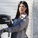 Kourtney Kardashian – Leaving Kanye West's Studio in Los Angeles - 454 x 681
