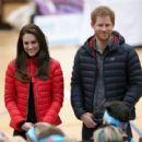 Prince William, Duchess Catherine and Harry visited London Marathon Day - 454 x 418