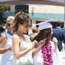 Kate Beckinsale at Lily Mo Sheen graduation in Studio City