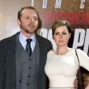 Simon Pegg and Maureen McCann - 360 x 240