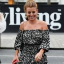 Coleen Rooney in Mini Dress – Night Out at Menagerie in Manchester - 454 x 925