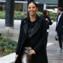 Rochelle Humes – Filming at ITV Studios in London - 454 x 839