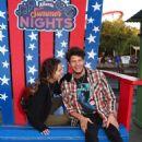 Haley Lu Richardson – Visits Knott's Summer Nights in Buena Park - 454 x 681