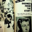 Nick Adams - Movie Life Magazine Pictorial [United States] (February 1959) - 454 x 322