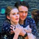 Zoey Deutch and James Franco
