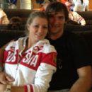 Alexander Ovechkin and Maria Kirilenko
