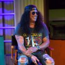 Slash speaks during Halloween Horror Nights at Universal Studios Hollywood on September 12, 2019 in Universal City, California