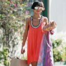 Bai Ling Shopping In Beverly Hills, April 19 2010