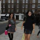 Imogen Thomas At Chiltern Firehouse In London