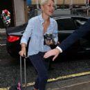 Emma Willis – Arriving at BBC Radio Studios in London - 454 x 681