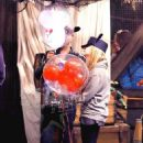 Avril and Chad at Disneyland in Anaheim, CA (12 Nov 2012)